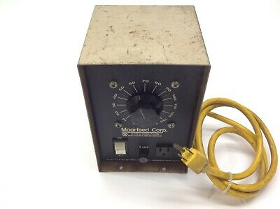Moorfeed Corp. Variable Transformer 5 Amp 1-140V