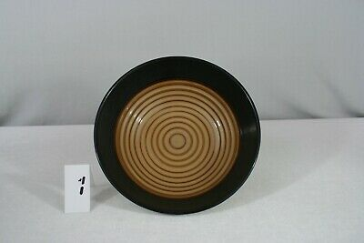 """Noble Excellence Desert Sand Cereal Soup Bowls 7.5"""" EUC Two Tone Textured"""