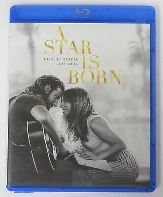 A Star Is Born (Blu-ray/DVD, 2019, 2-Disc Set) Lady Gaga, Bradley Cooper --