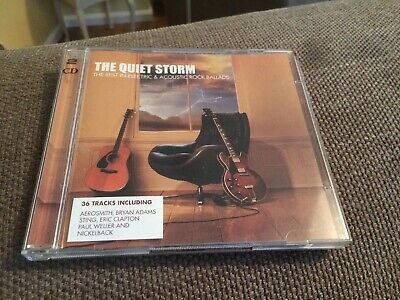 The Quiet Storm The Best In Electric & Acoustic Rock Ballads 2 CD Set.