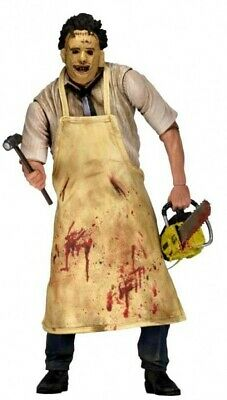 """NECA The Texas Chainsaw Massacre 7"""" Leatherface 40th Anniversary Action Figure"""