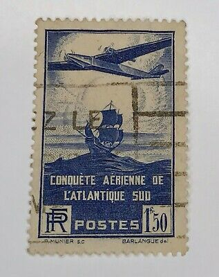 France Stamp # C16 USED Cat. $5.25