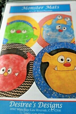 Pattern Monster Mats Desiree's Designs 16 x 16 Inches