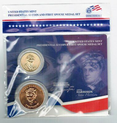 2012 Grover and Frances Cleveland First Spouse Presidential Coin /& Medal Set 1st