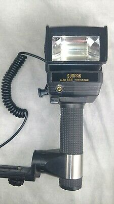 Sunpak Auto auto 555 Handle Mount Flash
