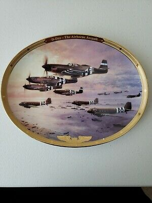 """""""D-Day The Airborne Assault"""" Thunder in the Sky #2 Robert Taylor COA"""