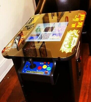 60 in 1 cocktail table coin op arcade game