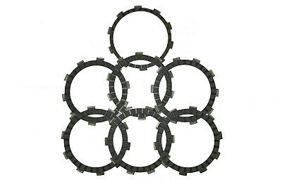 Clutch plates, 7 friction plates to fit Yamaha DT125R (1988-2007)