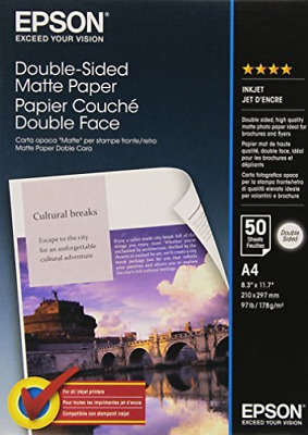 Double Sided Matte Paper A4 Pack 50 New