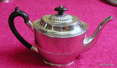 "Mappin & Webb Princes Plate (W8898) 4 3/4"" TEA POT Exc"