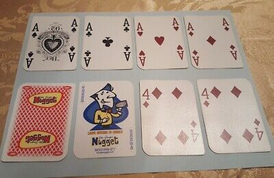 Red Bee Playing Cards Standard Club Special John Ascuaga's Nugget Casino Vintage