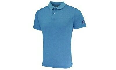 NWT PGA Tour Men's Performance Textured Solid Polo Golf Shirt Large