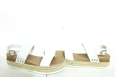bcc70068cac STEVE MADDEN WOMENS Catia Natural Leather Espadrilles Size 9 (404831 ...