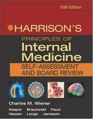 Harrison's Principles of Internal Medicine Board ... by Fauci, Anthony Paperback