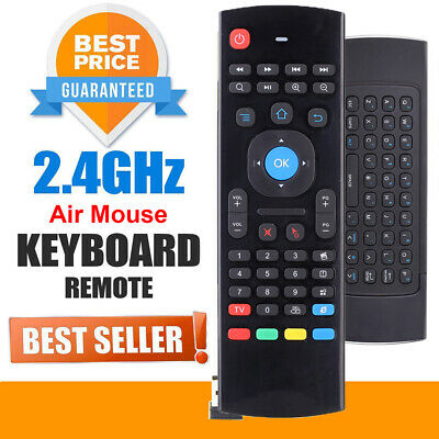 ANDROID TV BOX Wireless Remote Control Keyboard Air Mouse