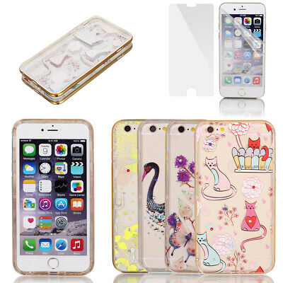 """Soft Plastic Ultra Thin Case Cover w Bumper Frame for Apple iPhone 6 Plus 5.5"""""""