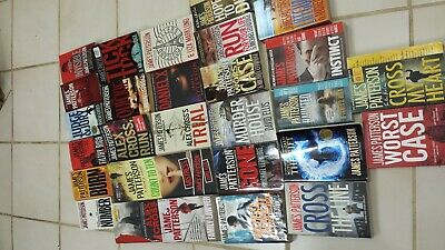 JAMES Patterson lot of 27 MURDER MYSTERIES SC