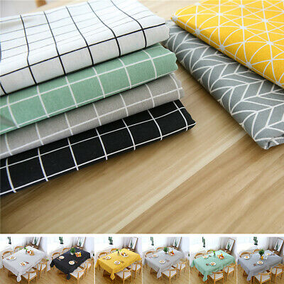 Wipe Clean Tablecloth Waterproof Table Covers Protector For Kitchen Dining Table
