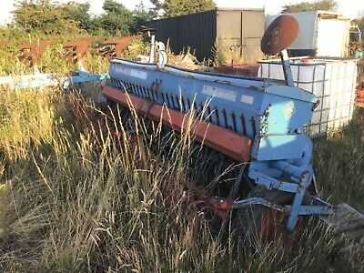 Ransome nordsten liftomatic CLB  corn drill  agricultural 3.5 m in suffolk