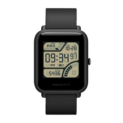 Xiaomi Huami AMAZFIT Bip Smart Watch International Version Black Waterproof