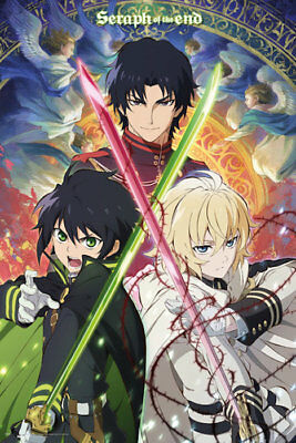 "10/""x14/"" Anime Seraph of the end Owari no Seraph Poster Wall Scroll cosplay 2756"