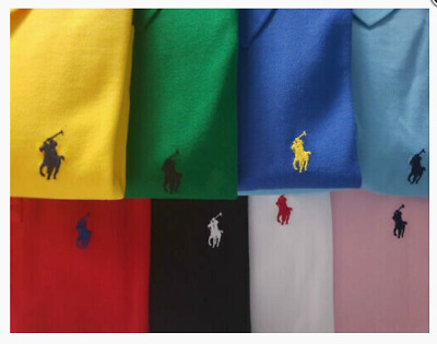 2019 Mann Mode RalphLauren Poloshirt Small Pony Custom Fit S-XXL