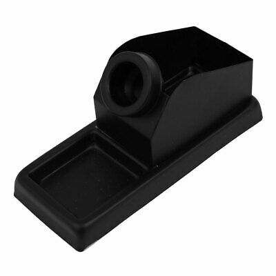 155mm Length 60mm Width Black Rectangular Base Stand Holder for Soldering Iron