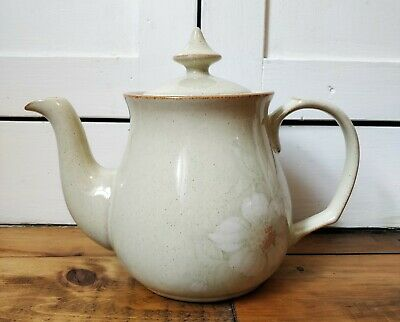 "Denby Daybreak Teapot Tea Pot 7"" Tall Excellent Condition stoneware Pottery"