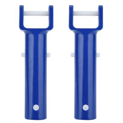 Swimming Pool Spa Vacuum Head Handle Replacement w// V-Clip /& Pin BLUE zxc