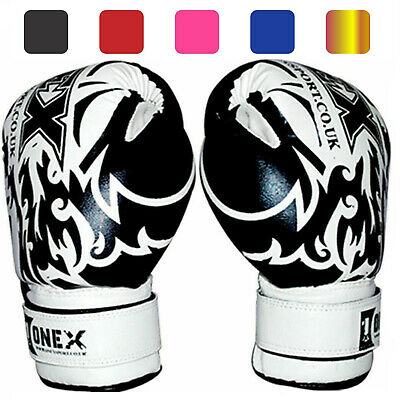 Training Sparring Kids Boxing Gloves Junior Punching Bag Mitts MMA Muay Thai Mit