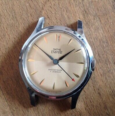 Vintage SMITHS EMPIRE - Lovely Old Watch Working but Spares or Repairs
