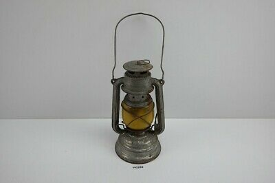 BAT No.159 Petroleumlampe Germany Bunkerlampe Sturmlaterne Jena gelb alt #192289