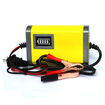 Intelligent 12V Trickle Motorcycle Motorbike Battery Charger Automatic J6C4M