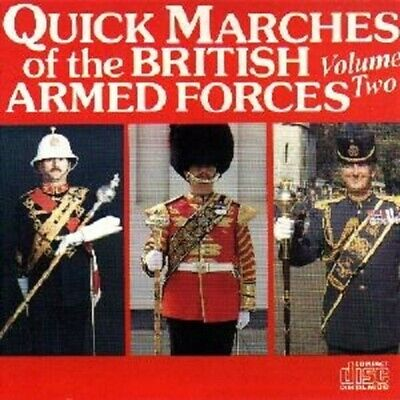 "Royal Corps of Signals Band ""Quick Marches of The British Armed Forces Volume 2"""