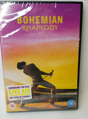Bohemian Rhapsody [DVD] [2018] Brand new and sealed with free P & P