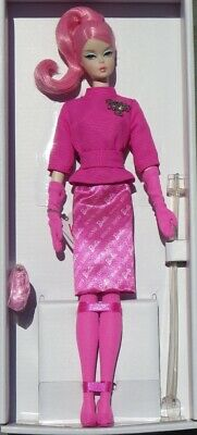 Barbie Proudly Pink 60th Anniversary Porcelain Silkstone 2018 Mattel FXD50 NRFB