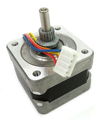 Sanyo Denki Type 103-546-6843  1.8°/Step 3.3 Ohm Stepper Motor w/ 9mm Gear