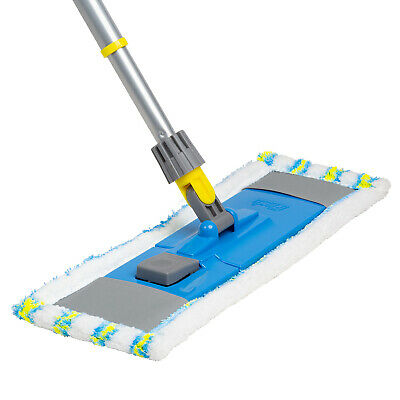 Flash Flat Mop With Extending Handle & Optional Mop Head Refills, Kitchen Floor