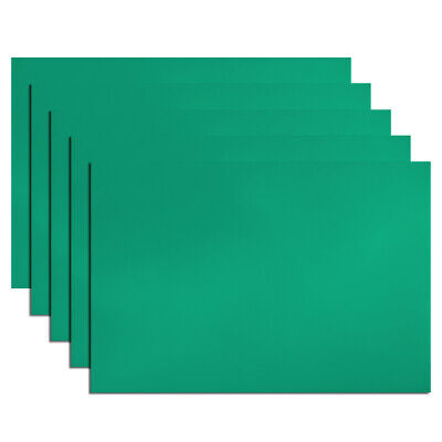 """5Pcs Dry Erase  Magnetic Strip 11.7"""" x 8"""" Labels Stickers Writable Green"""