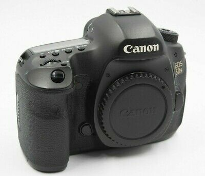 Canon EOS 5DS 50.6MP DSLR Camera (Black, Body Only) - Good Condition!