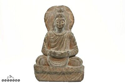 Antique Gandharan Carved Stone Buddha