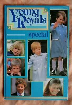 Young Royals - The Queen, Prince Charles Princess Diana & Prince William & Harry