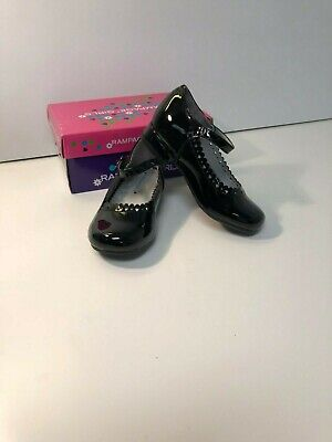Old Soles Quest Black with Patent Mary Jane Shoes Toddler and  Girls NWB