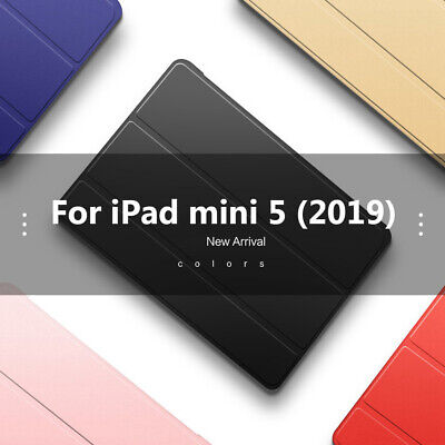Soft Back Shell Cover For 2019 Apple iPad Mini 5 7.9 inch A2133 A2124 A2126