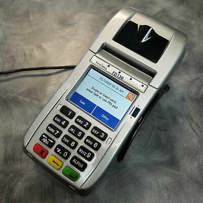 FIRST DATA FD130 Duo Terminal and FD-35 EMV PIN Pad with 1yr