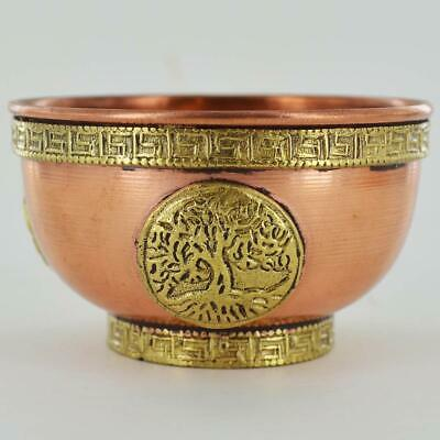 Tree Of Life Copper Bowl (Small)