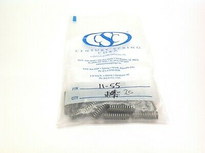 Century Spring Corp. II-55 Compression Springs - Bag of 20