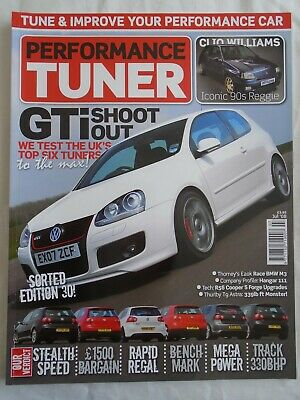 Performance Tuner Jul 2008 GTi shoot out, Clio Williams