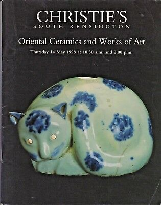 Christies - Oriental Ceramics and Works of Art - sale catalogue 1998