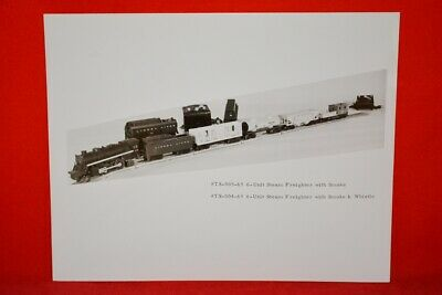Scarce Original Archive Photo Of 1965 Lionel Freight Sets - No Reserve